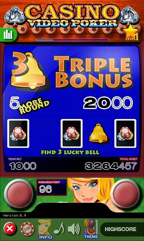 Casino Video Poker 15.0 Screenshot 19