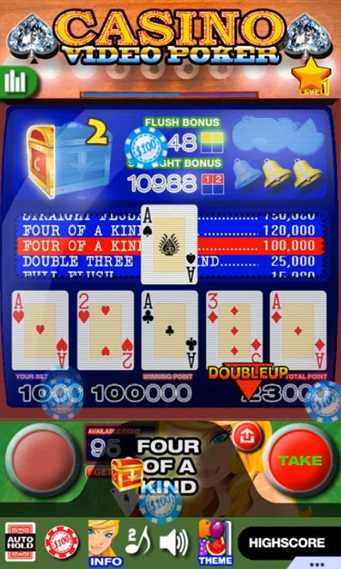 Casino Video Poker 15.0 Screenshot 2