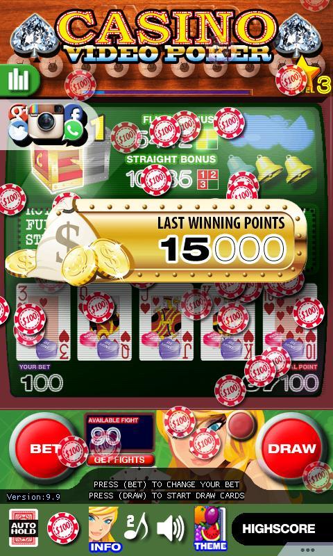 Casino Video Poker 15.0 Screenshot 21
