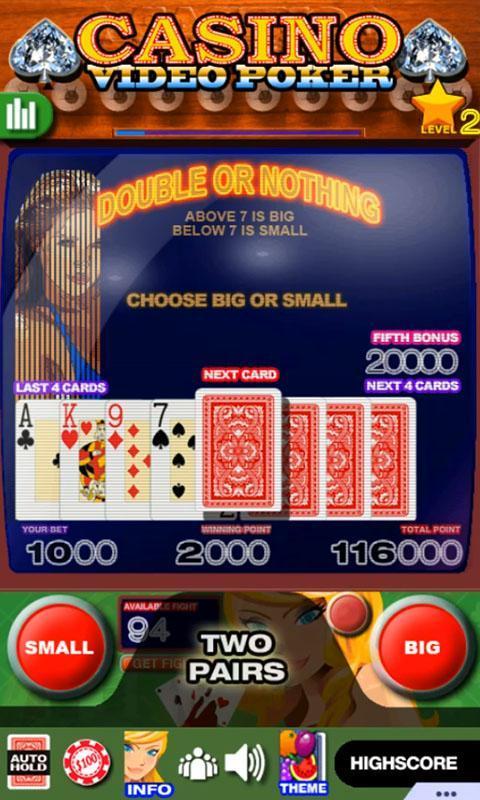 Casino Video Poker 15.0 Screenshot 3