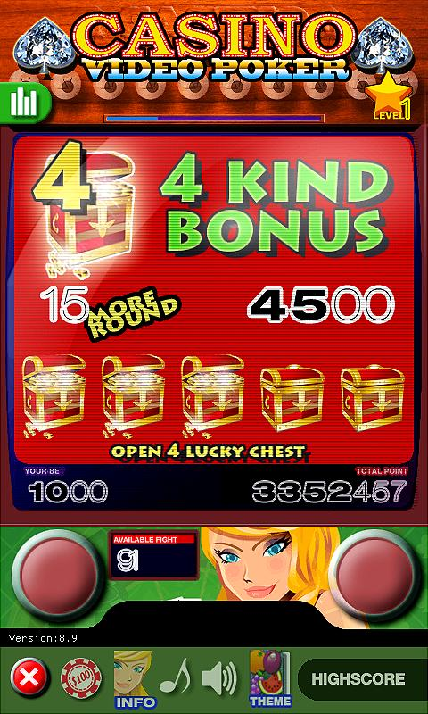 Casino Video Poker 15.0 Screenshot 4