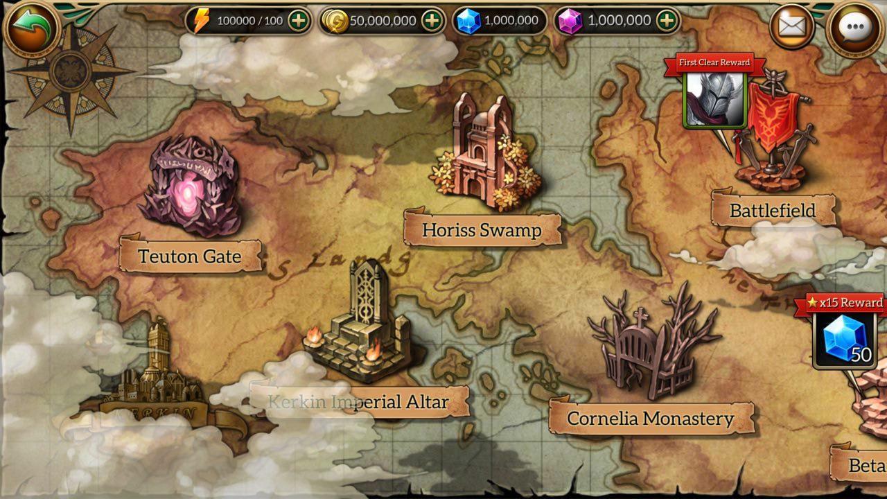 MonsterCry Eternal - Card Battle RPG 1.1.2.1 Screenshot 10