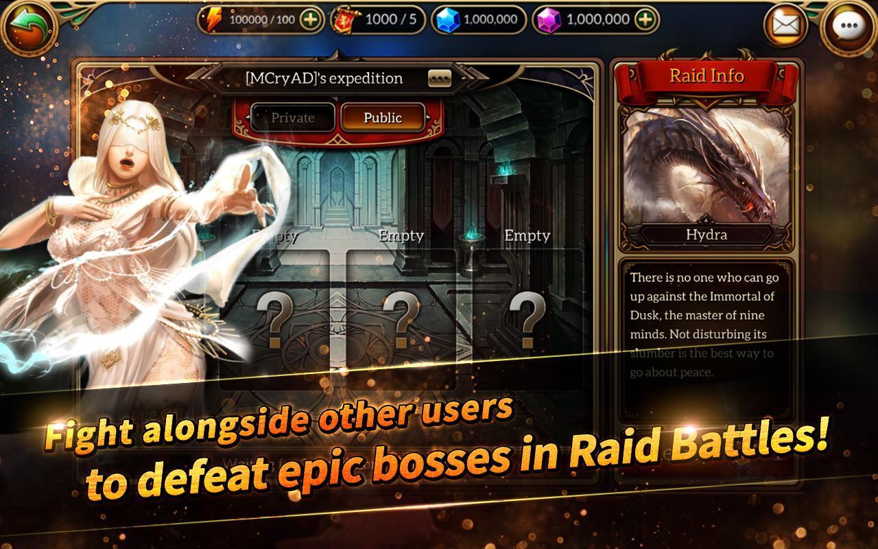 MonsterCry Eternal - Card Battle RPG 1.1.2.1 Screenshot 6