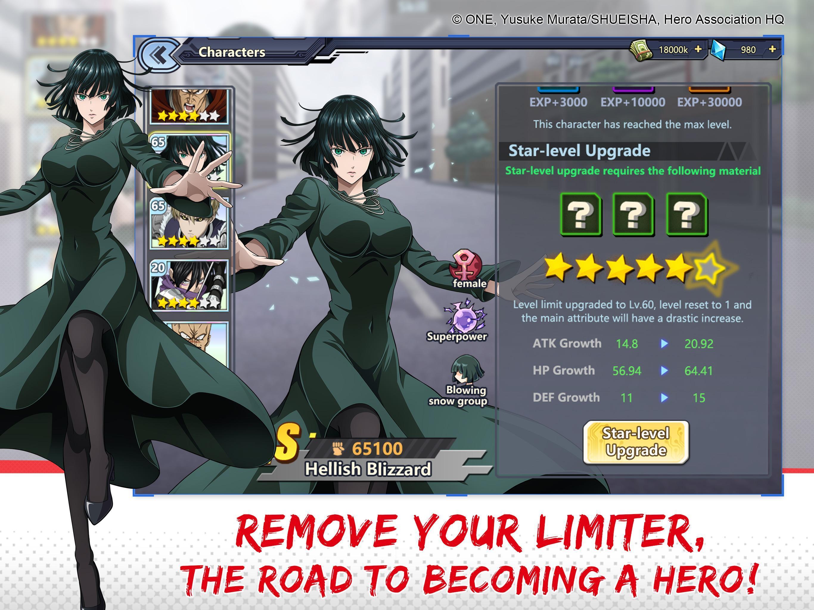 One-Punch Man: Road to Hero 1.8.0 Screenshot 15