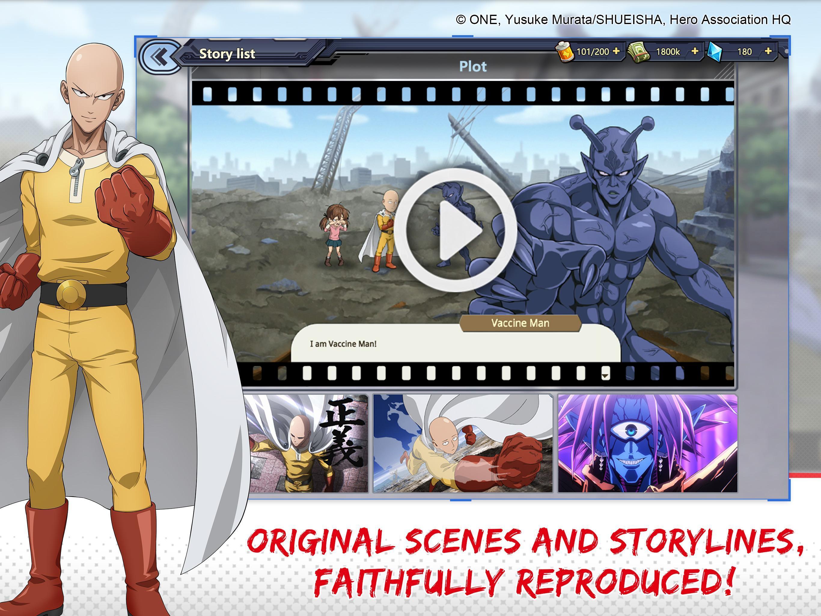 One-Punch Man: Road to Hero 1.8.0 Screenshot 3
