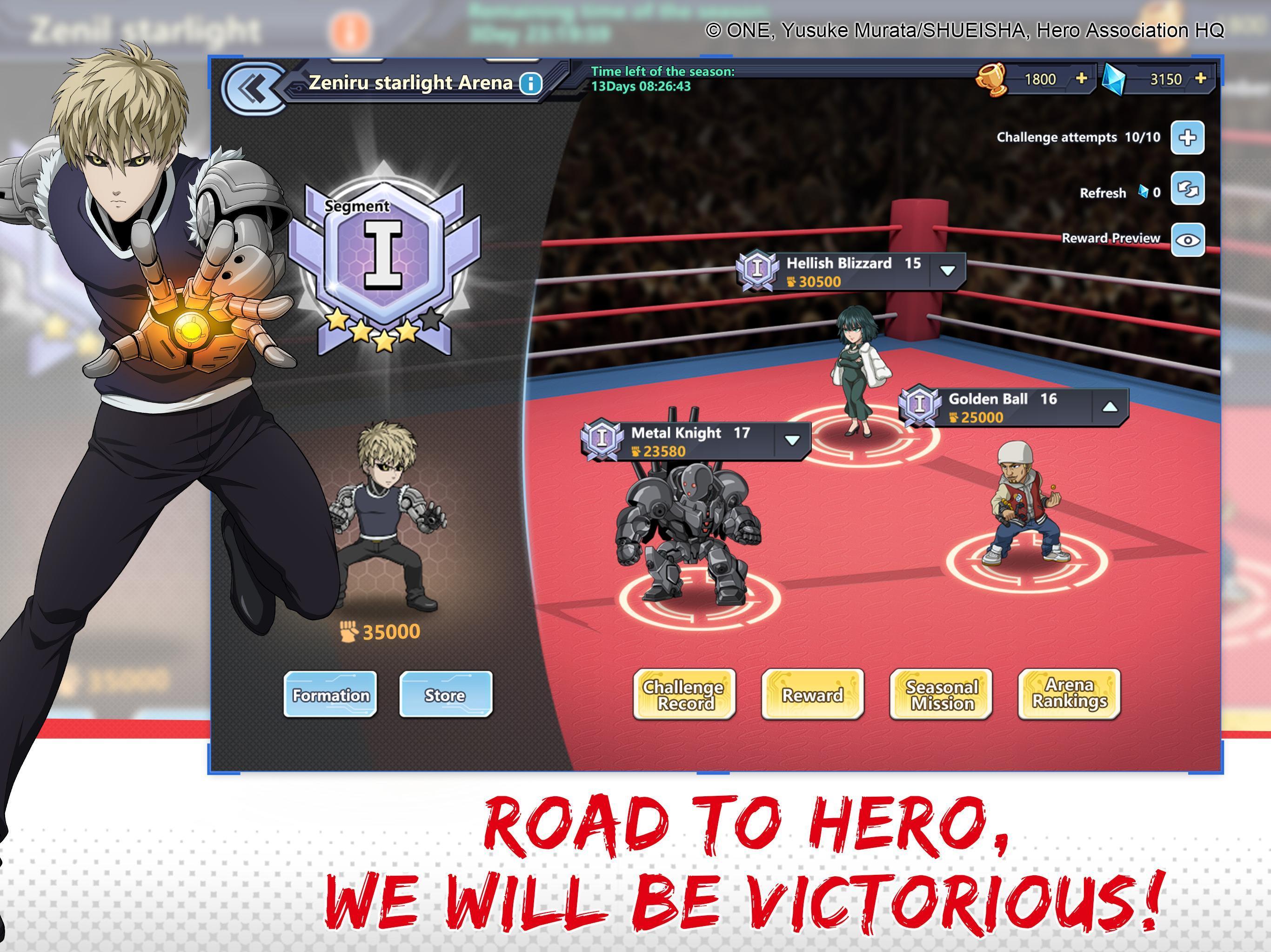 One-Punch Man: Road to Hero 1.8.0 Screenshot 4