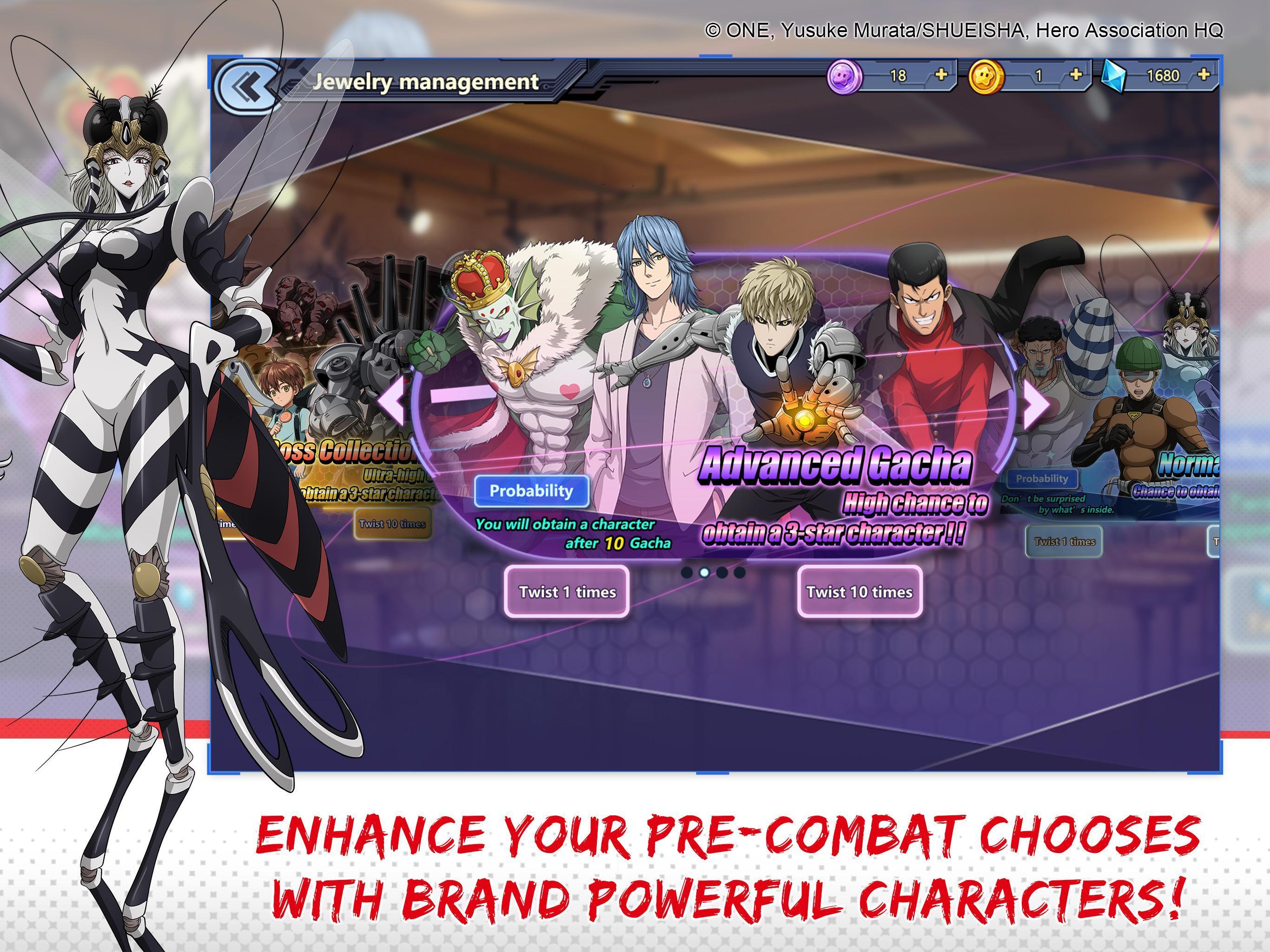 One-Punch Man: Road to Hero 1.8.0 Screenshot 8