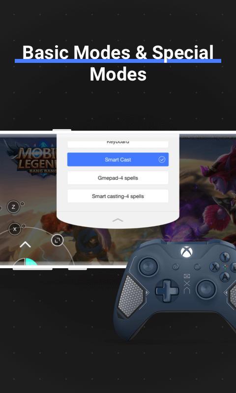 Octopus Gamepad, Mouse, Keyboard Keymapper 5.5.4 Screenshot 11