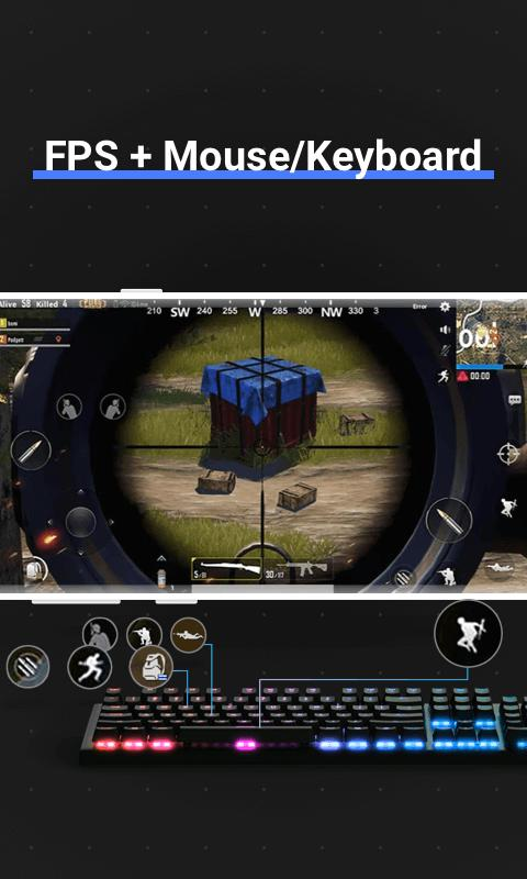 Octopus Gamepad, Mouse, Keyboard Keymapper 5.5.4 Screenshot 17