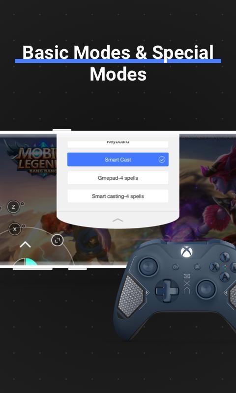 Octopus Gamepad, Mouse, Keyboard Keymapper 5.5.4 Screenshot 3