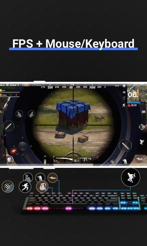 Octopus Gamepad, Mouse, Keyboard Keymapper 5.5.4 Screenshot 6