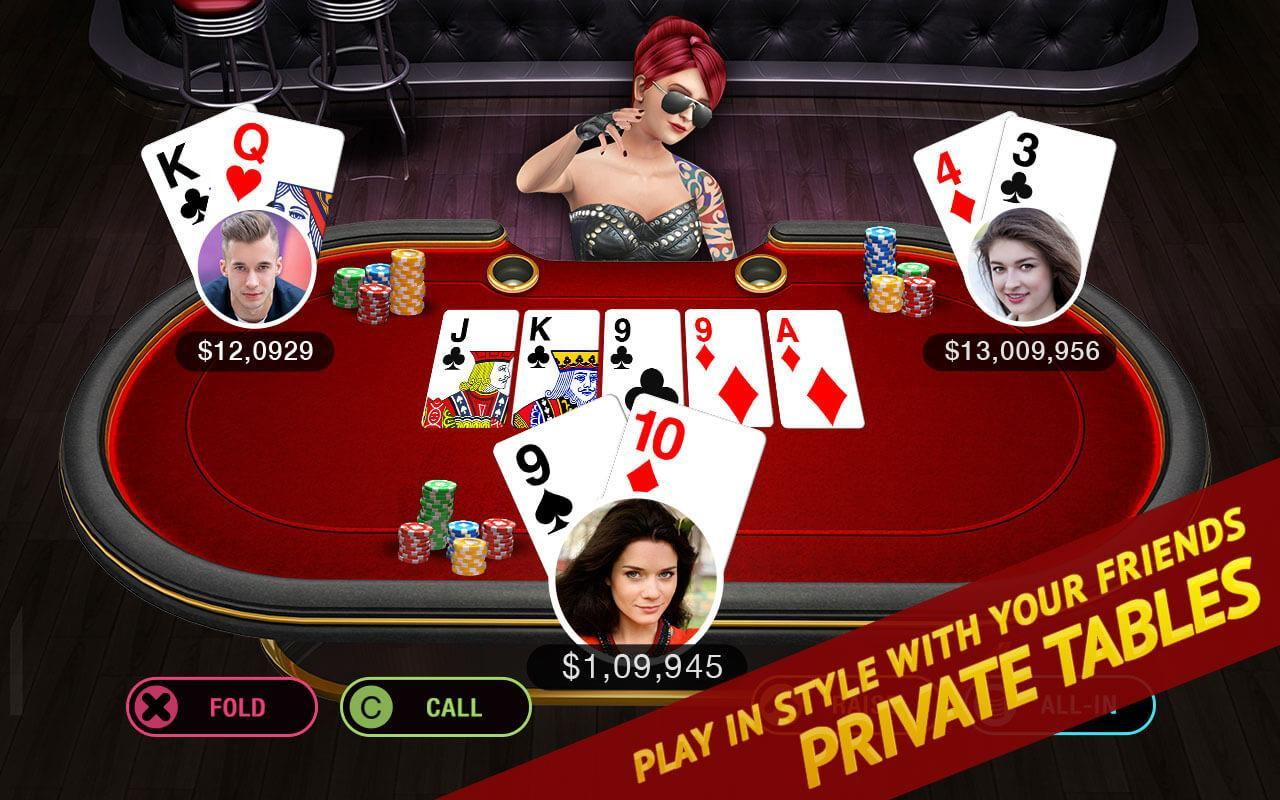 Poker Live! 3D Texas Hold'em 1.9.0 Screenshot 12