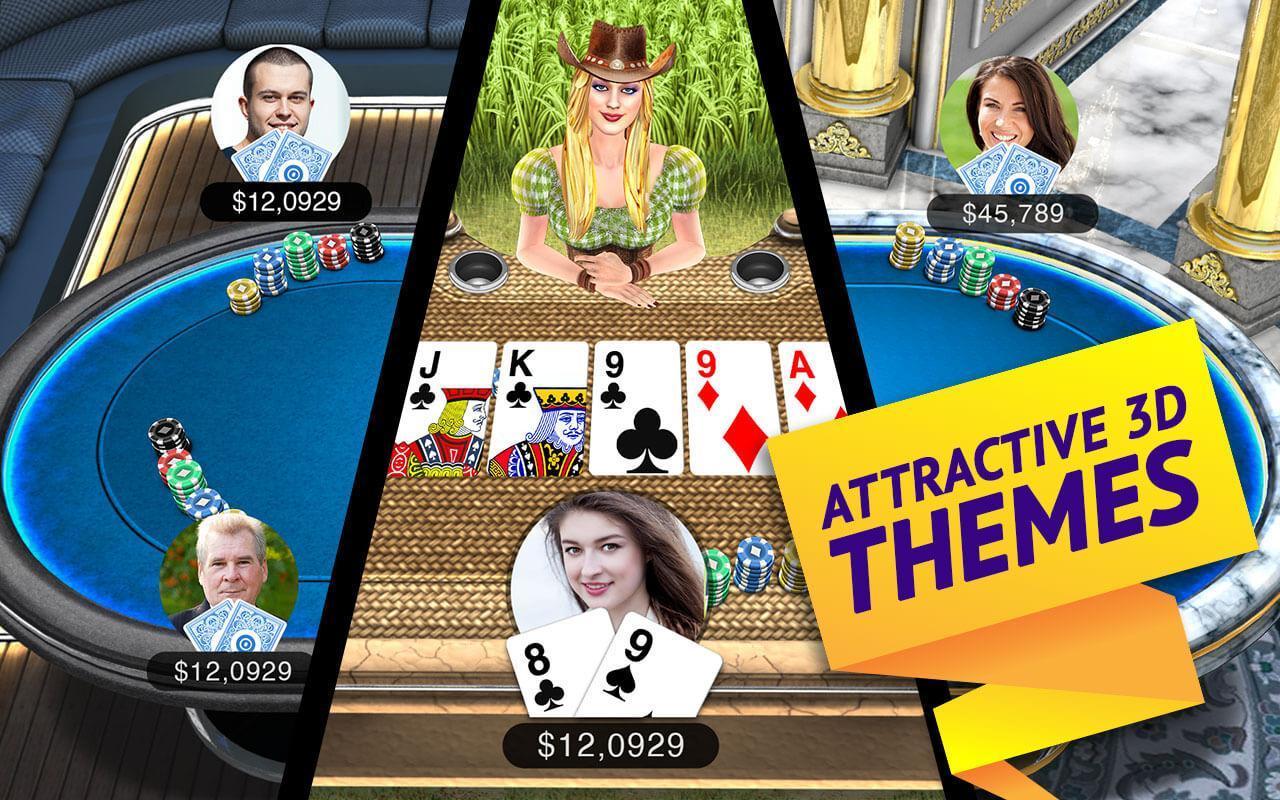 Poker Live! 3D Texas Hold'em 1.9.0 Screenshot 13
