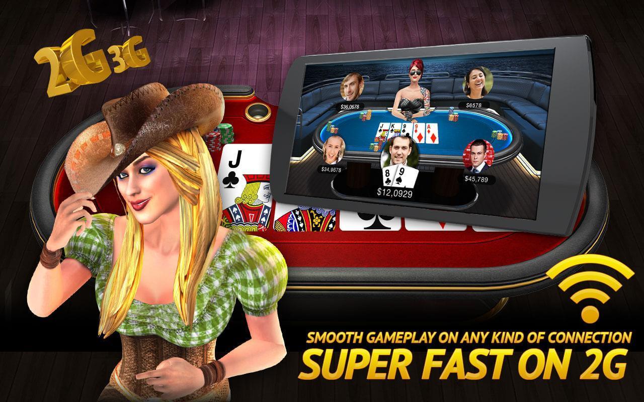 Poker Live! 3D Texas Hold'em 1.9.0 Screenshot 5