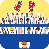 Guess who am I – Who is my character? Board Games app icon