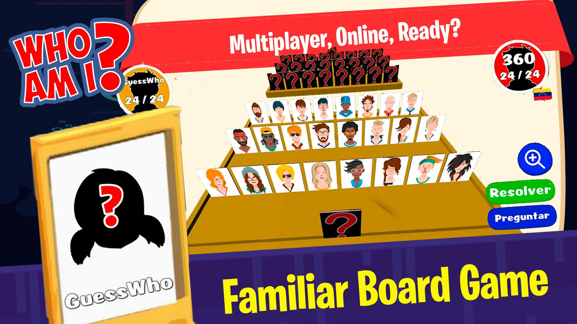 Guess who am I – Who is my character? Board Games 5.0 Screenshot 23