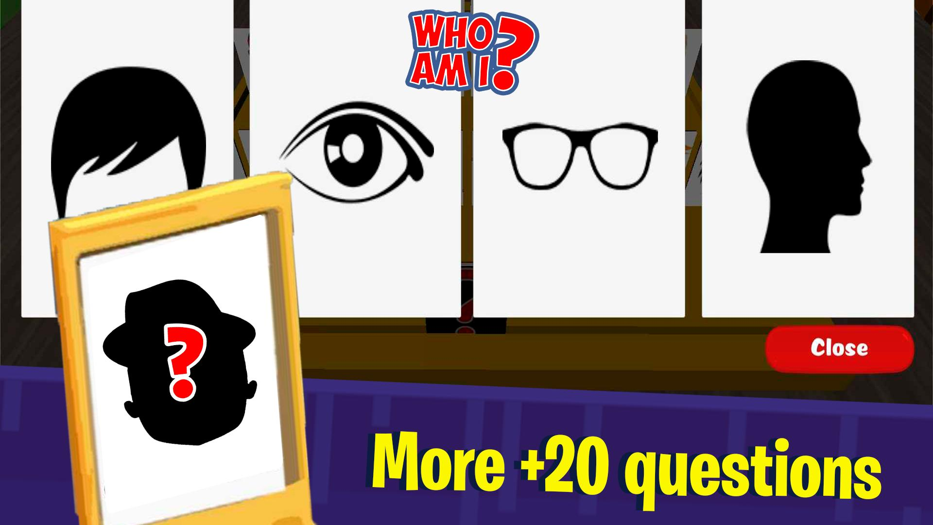 Guess who am I – Who is my character? Board Games 5.0 Screenshot 3
