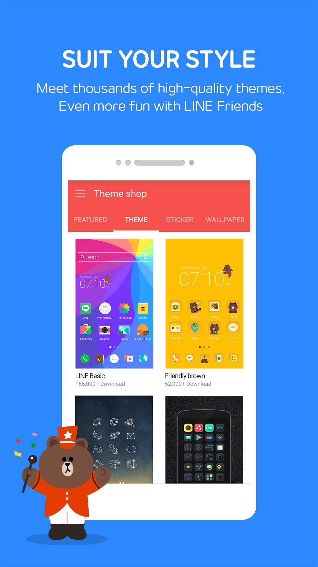 LINE Launcher 2.4.36 Screenshot 3