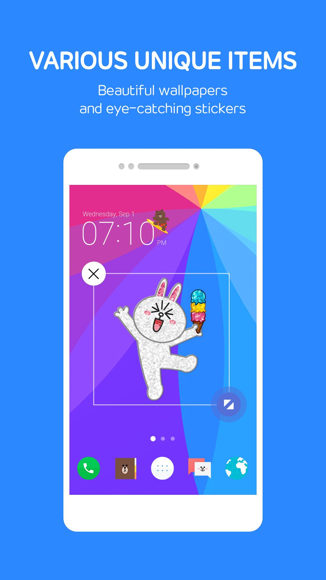 LINE Launcher 2.4.36 Screenshot 4