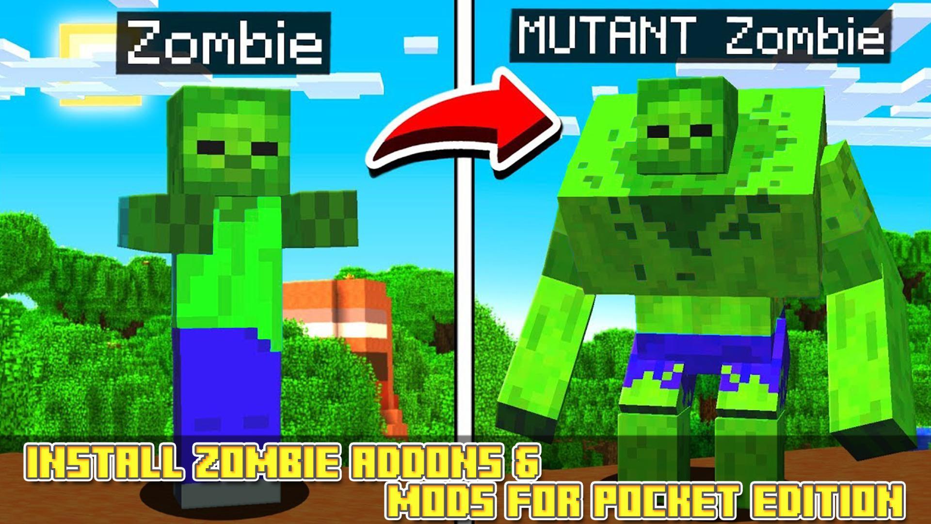 Mutant Mod - Zombie Addons and Mods 1.1 Screenshot 1