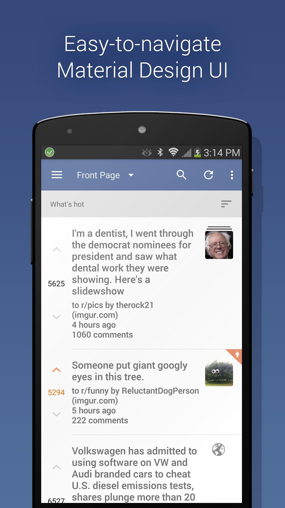 BaconReader for Reddit 5.6.7 Screenshot 1