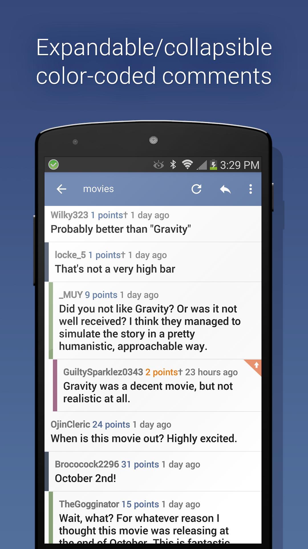 BaconReader for Reddit 5.6.7 Screenshot 2