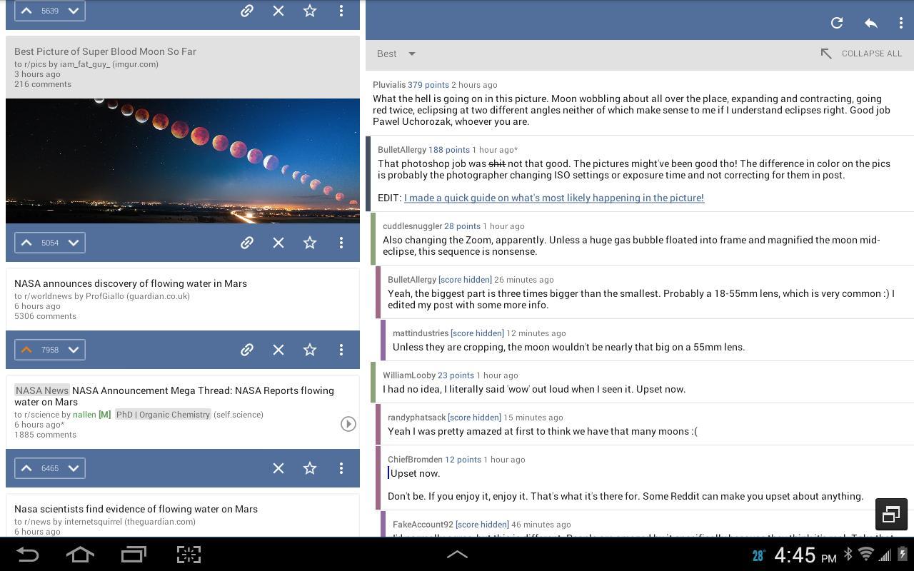 BaconReader for Reddit 5.6.7 Screenshot 8