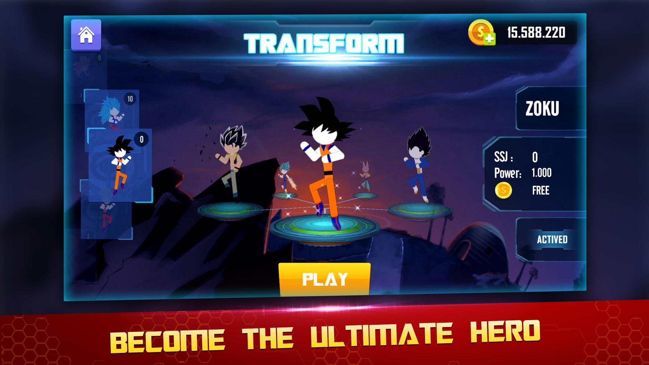Stick Z Super Dragon Fight 2.5 Screenshot 1
