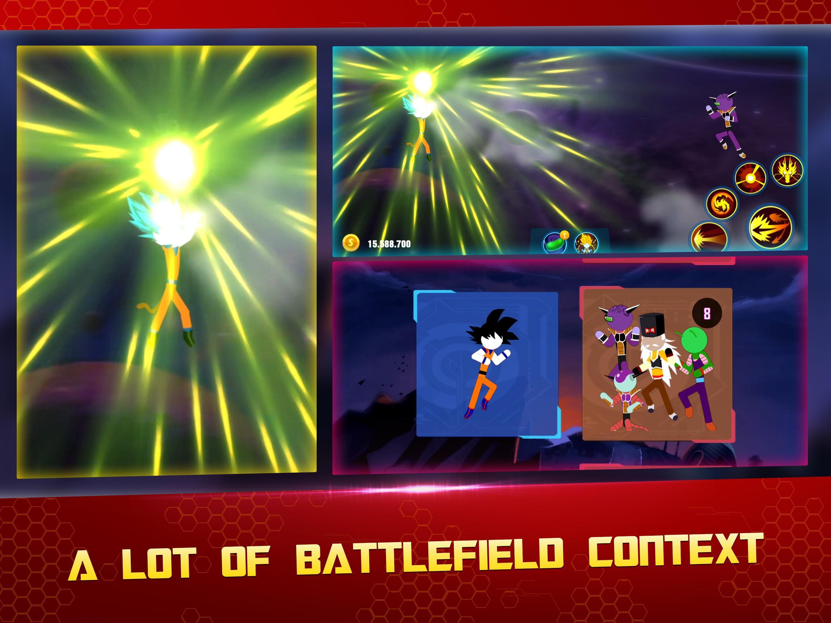 Stick Z Super Dragon Fight 2.5 Screenshot 10