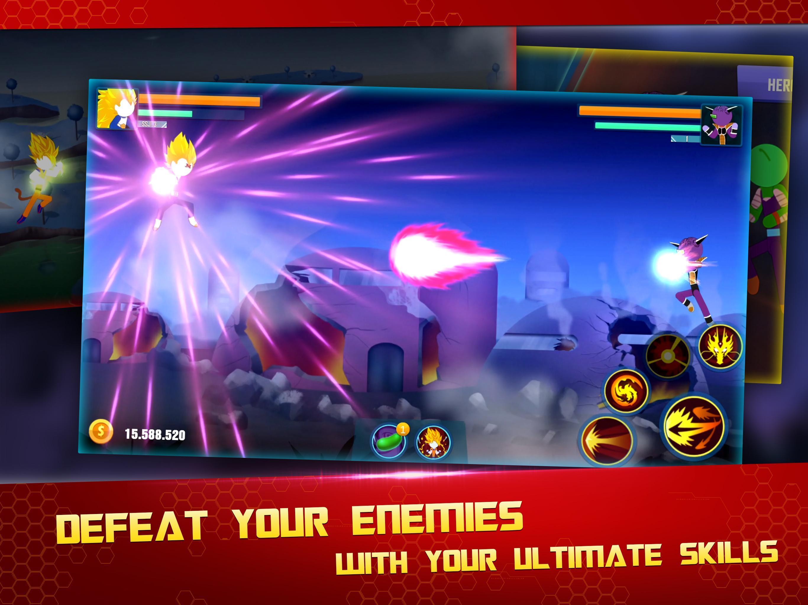 Stick Z Super Dragon Fight 2.5 Screenshot 11