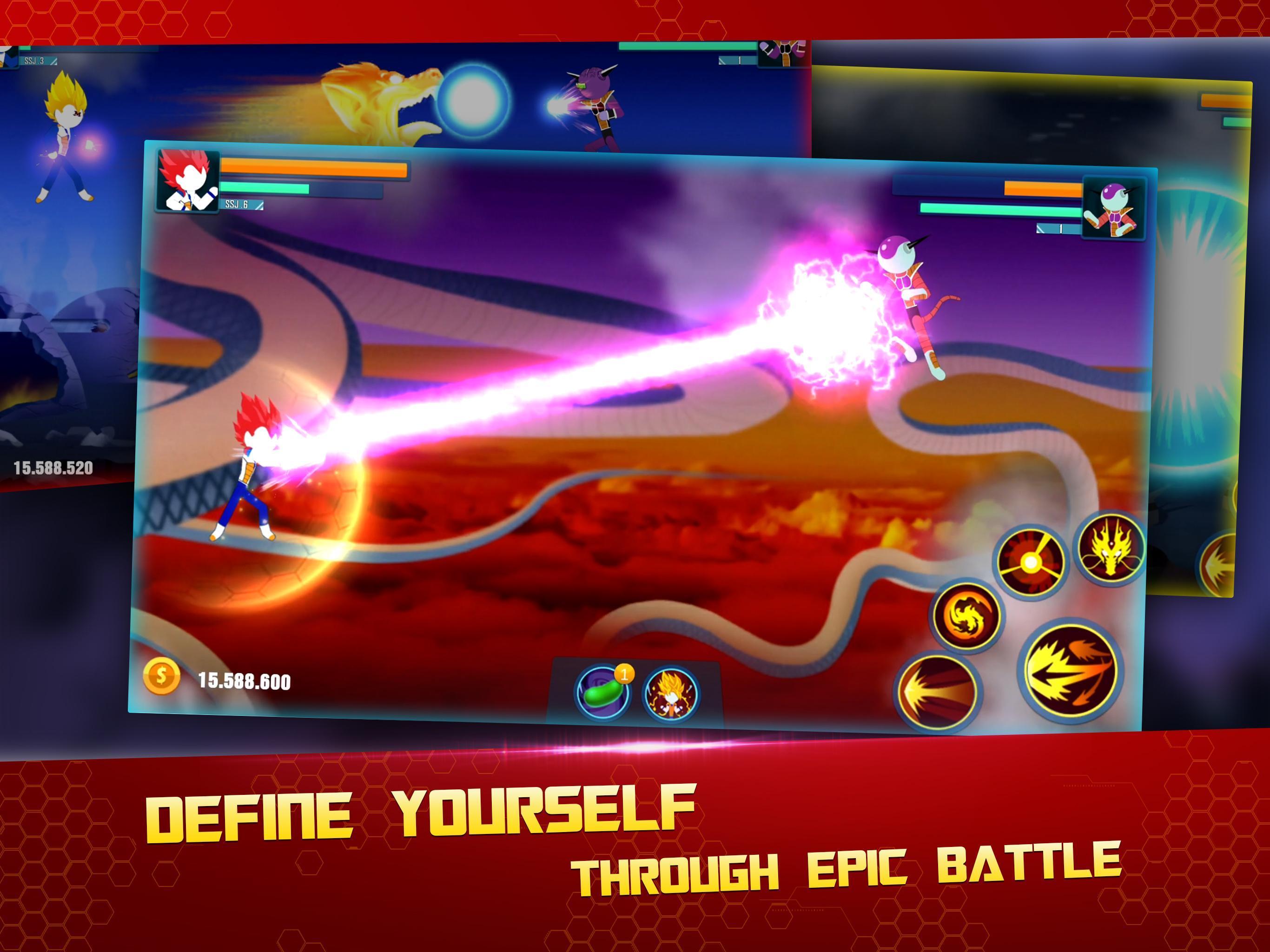 Stick Z Super Dragon Fight 2.5 Screenshot 12