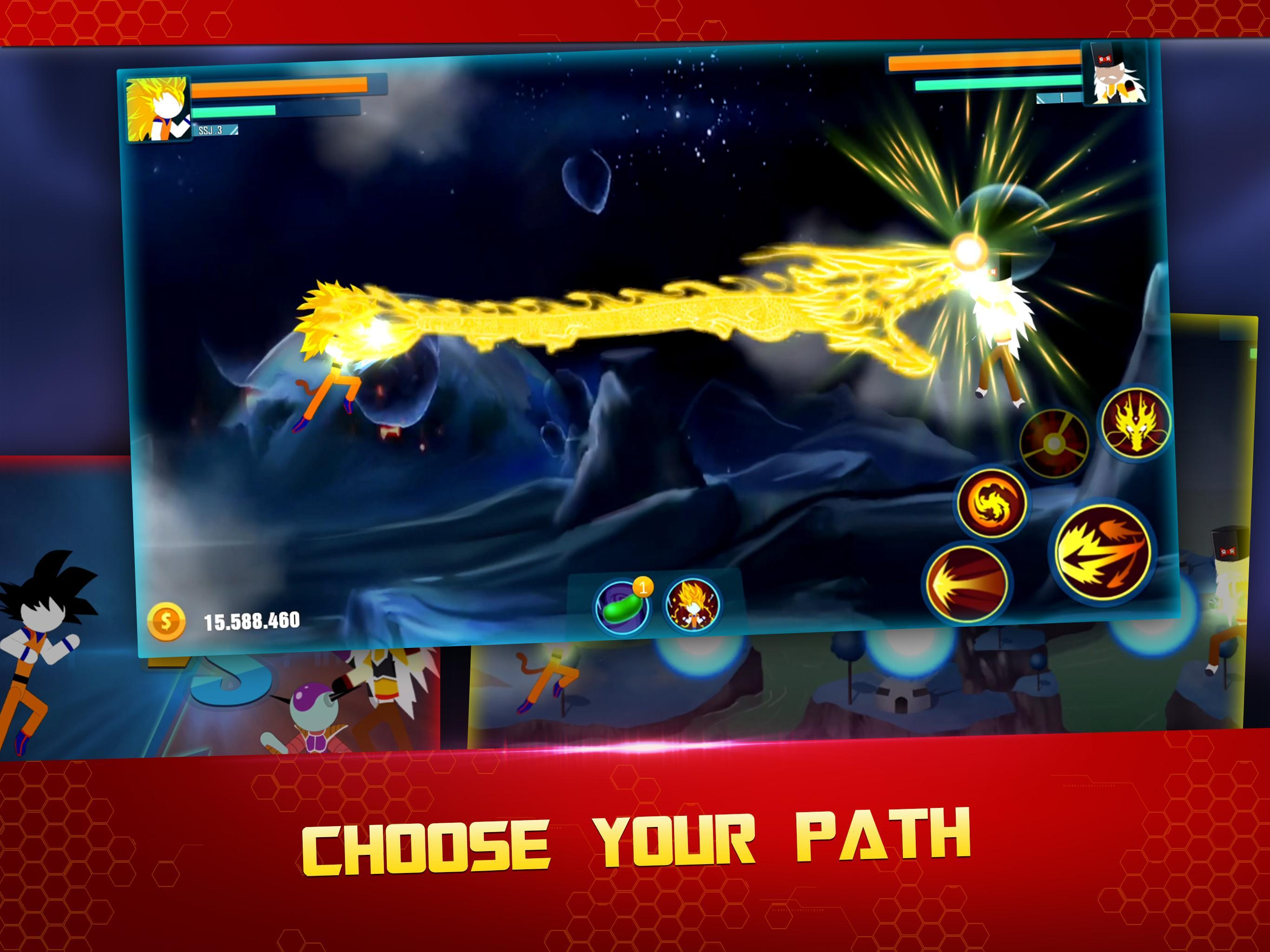 Stick Z Super Dragon Fight 2.5 Screenshot 13