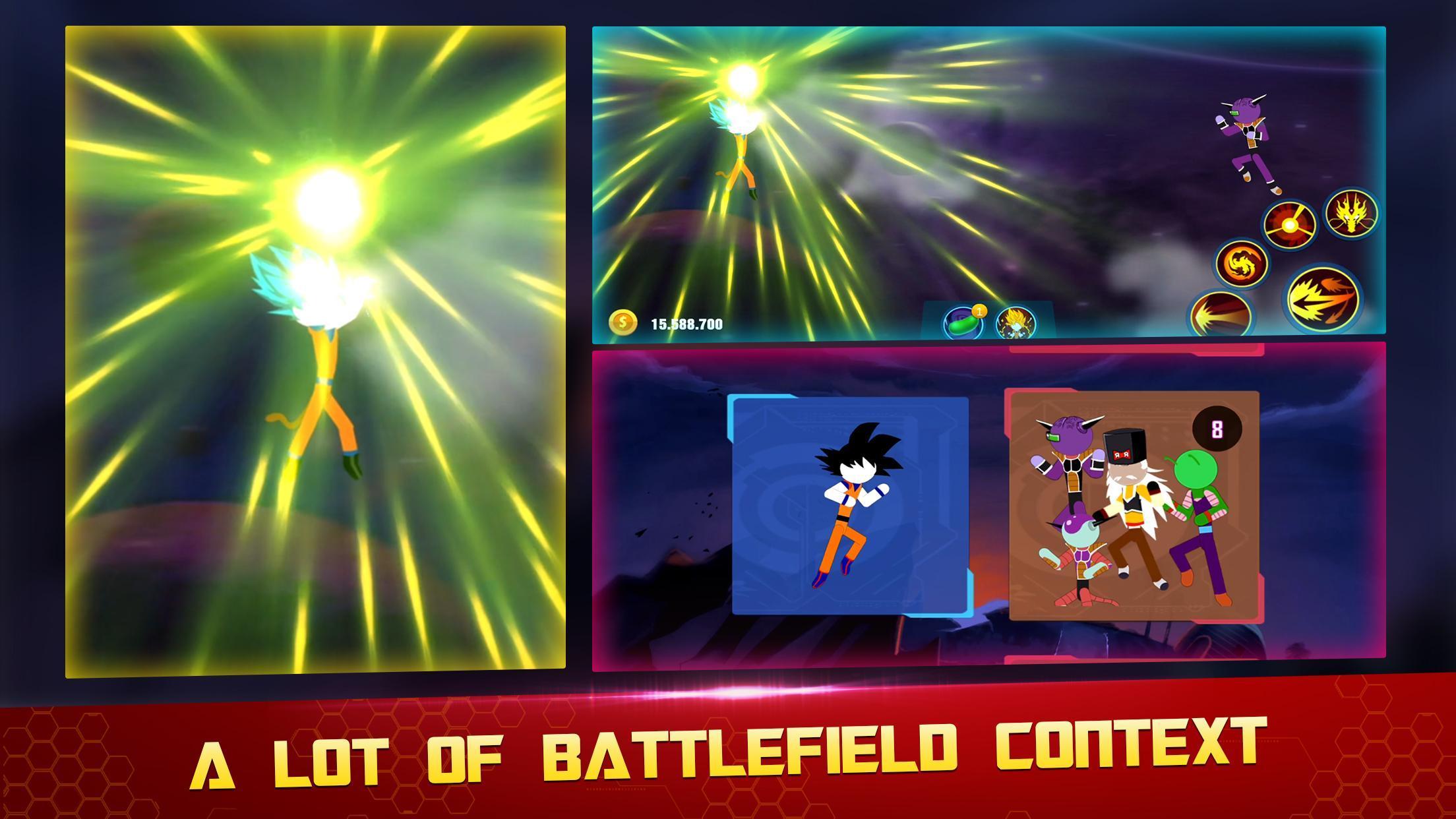 Stick Z Super Dragon Fight 2.5 Screenshot 2