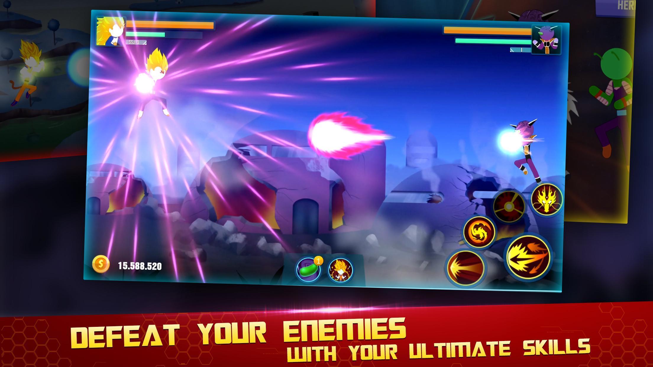 Stick Z Super Dragon Fight 2.5 Screenshot 3