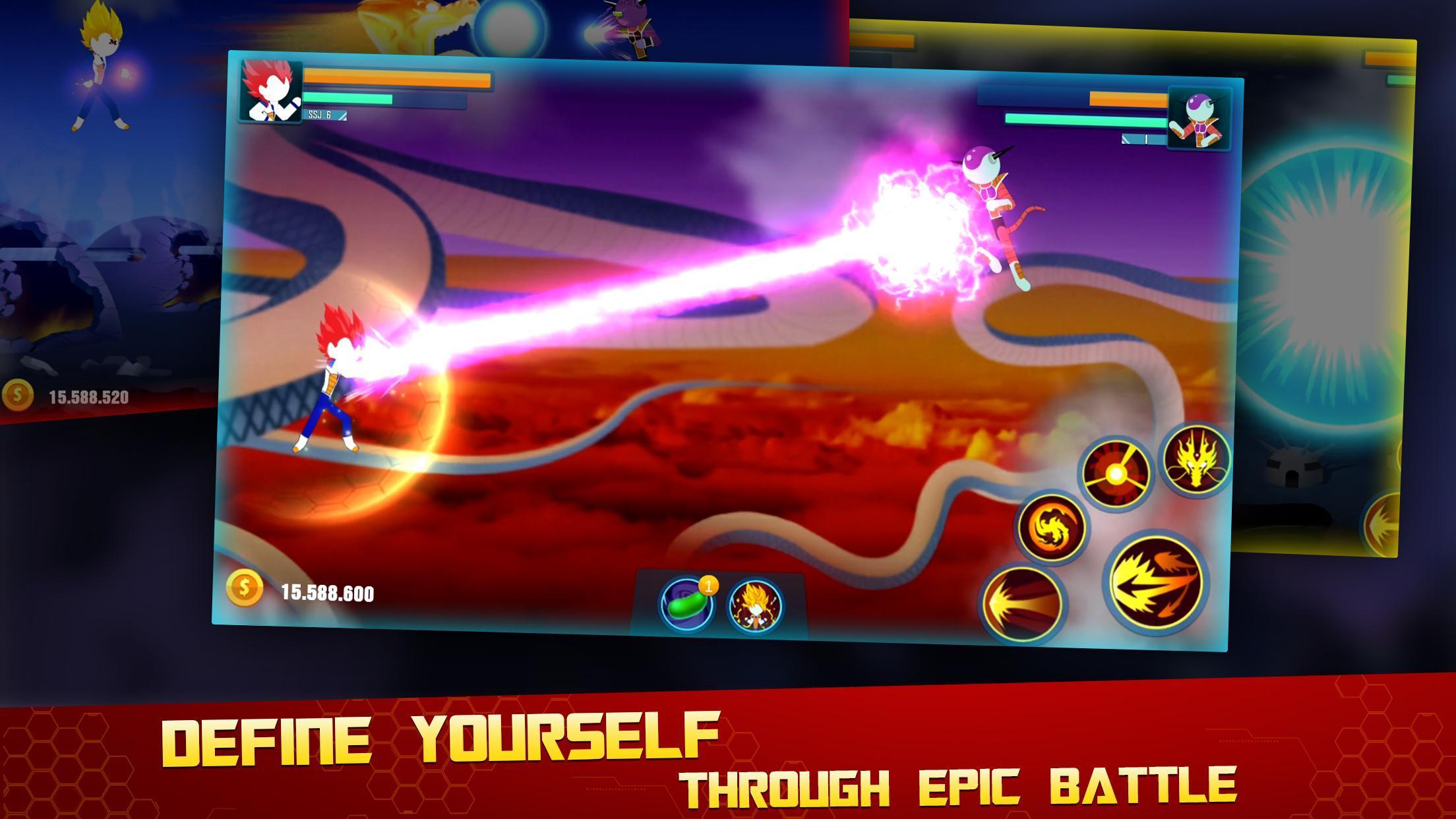 Stick Z Super Dragon Fight 2.5 Screenshot 4