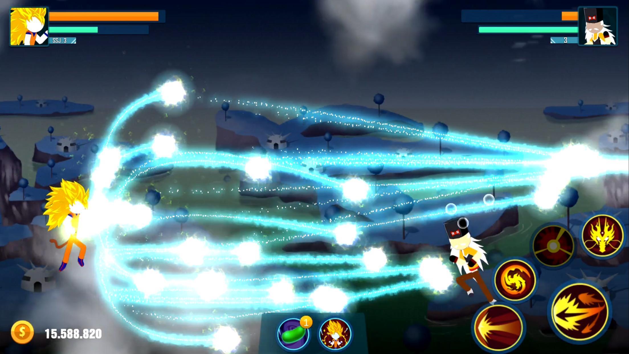 Stick Z Super Dragon Fight 2.5 Screenshot 8