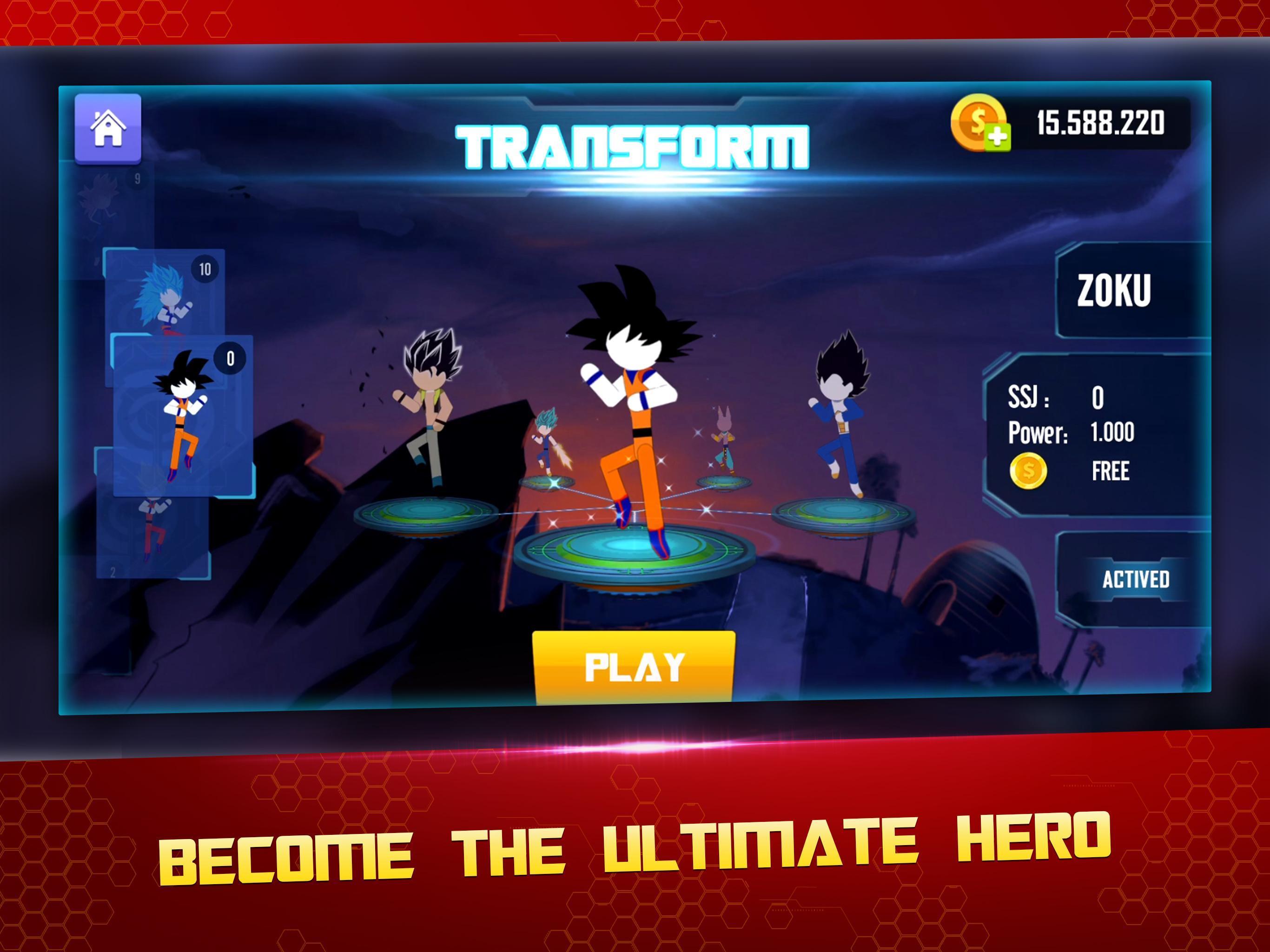 Stick Z Super Dragon Fight 2.5 Screenshot 9