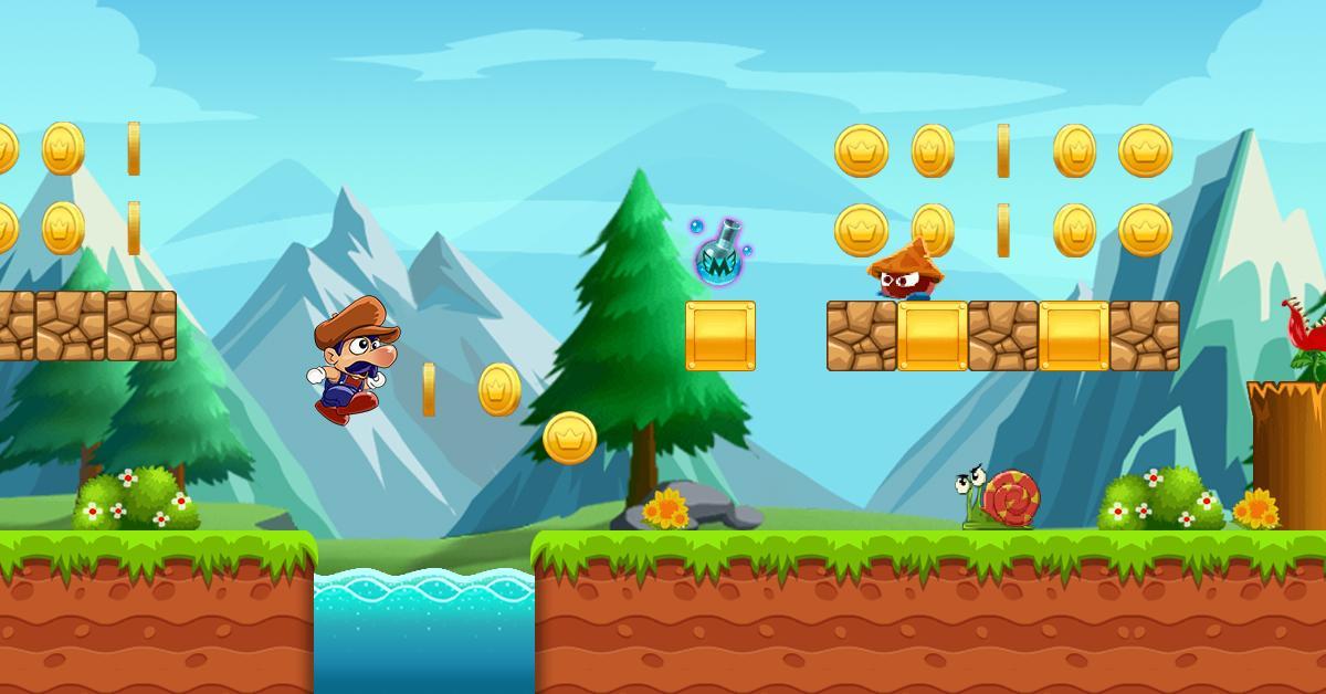 Super Bino Go New Adventure Game 2020 1.2.3 Screenshot 1