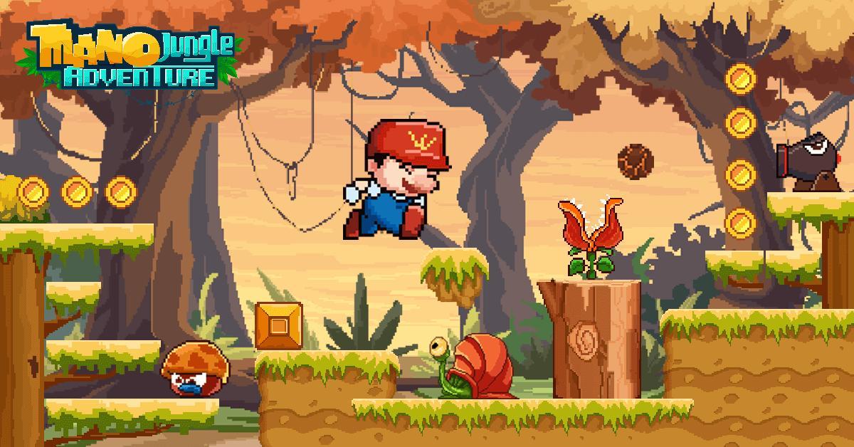 Mano Jungle Adventure Classic 2020 Arcade Game 1.0.5 Screenshot 1