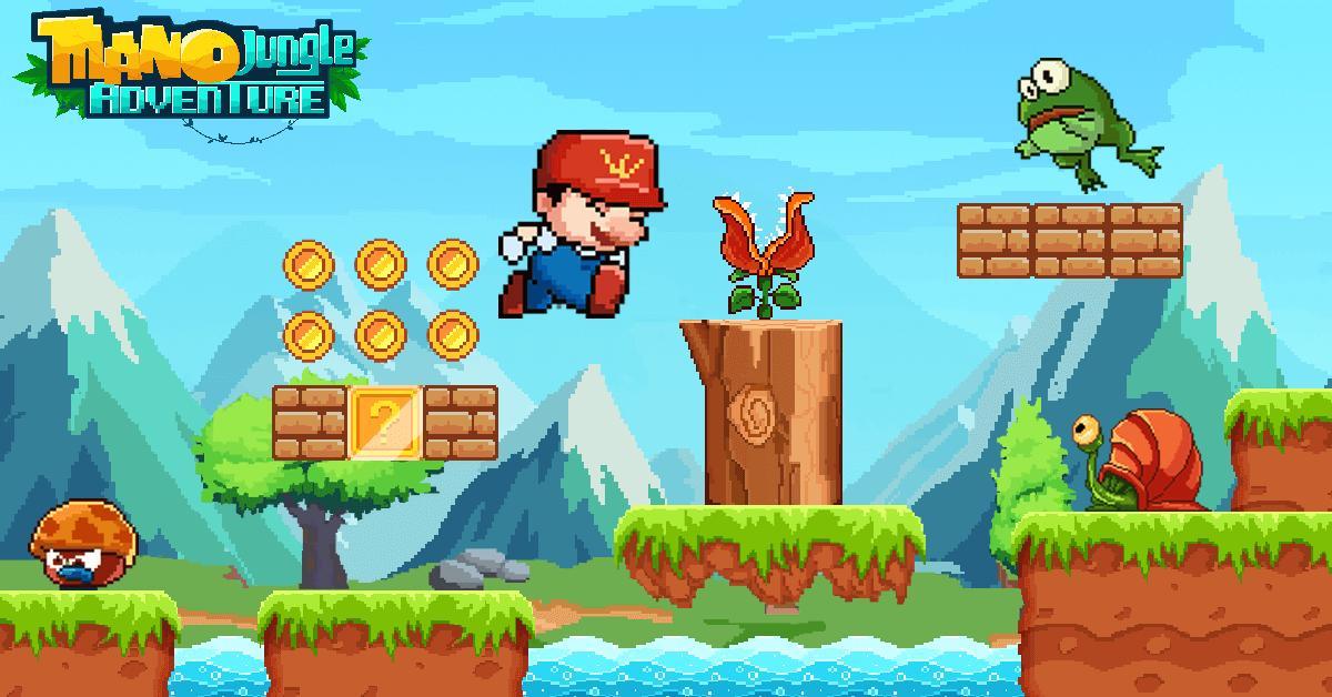 Mano Jungle Adventure Classic 2020 Arcade Game 1.0.5 Screenshot 2
