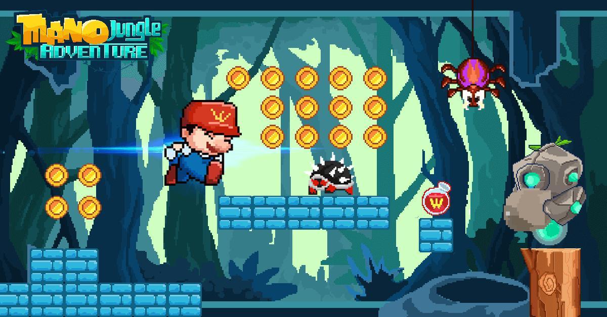 Mano Jungle Adventure Classic 2020 Arcade Game 1.0.5 Screenshot 4