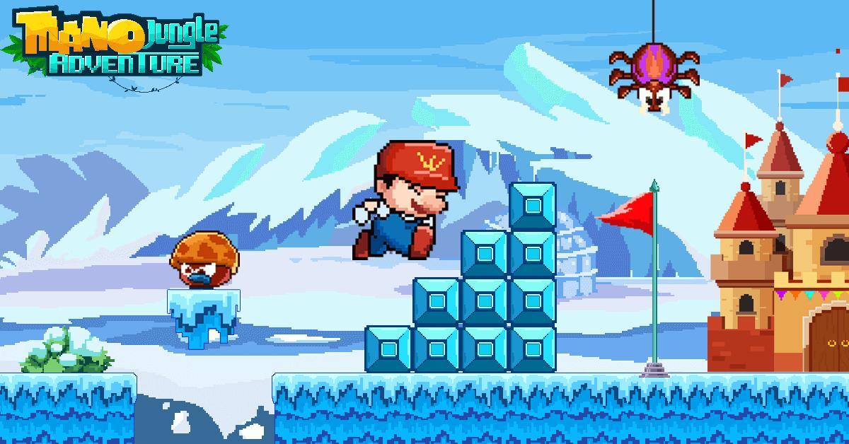 Mano Jungle Adventure Classic 2020 Arcade Game 1.0.5 Screenshot 5