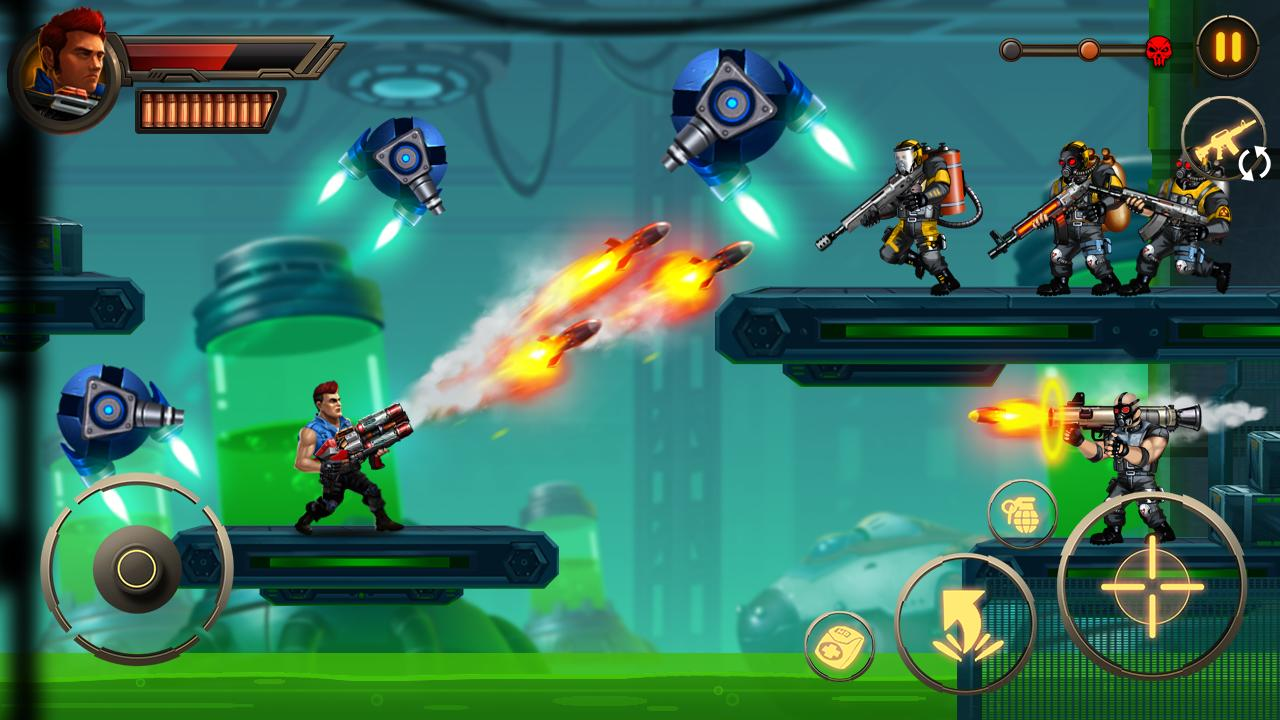 Metal Squad Shooting Game 2.3.0 Screenshot 1