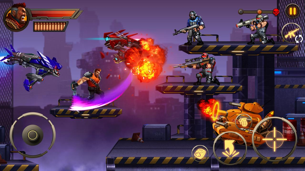 Metal Squad Shooting Game 2.3.0 Screenshot 3
