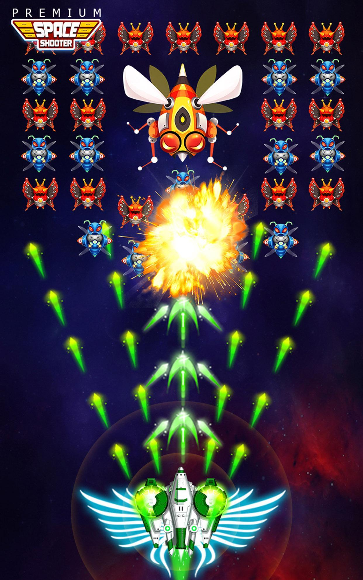 Space Shooter: Alien vs Galaxy Attack (Premium) 1.434 Screenshot 13