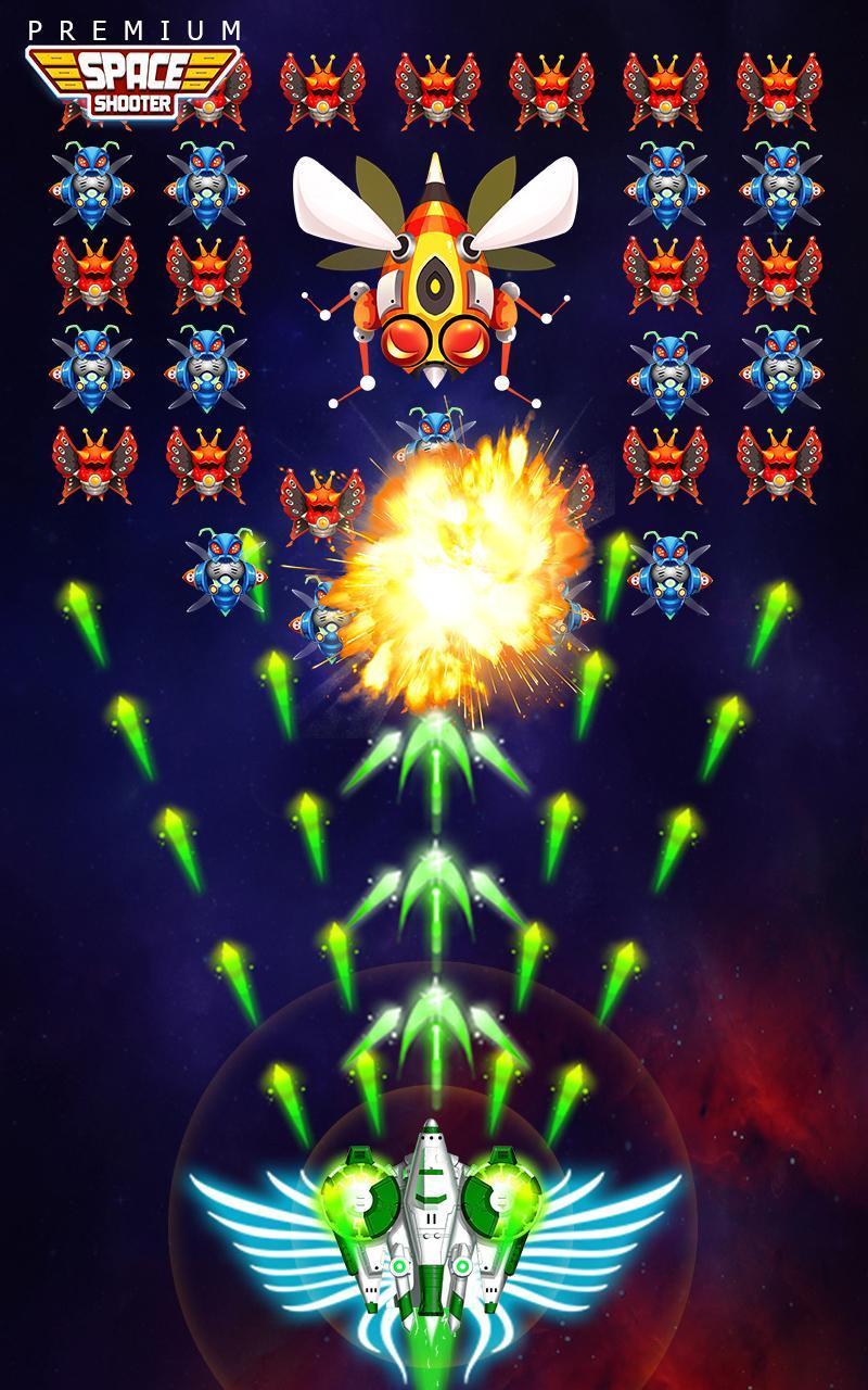 Space Shooter: Alien vs Galaxy Attack (Premium) 1.434 Screenshot 3