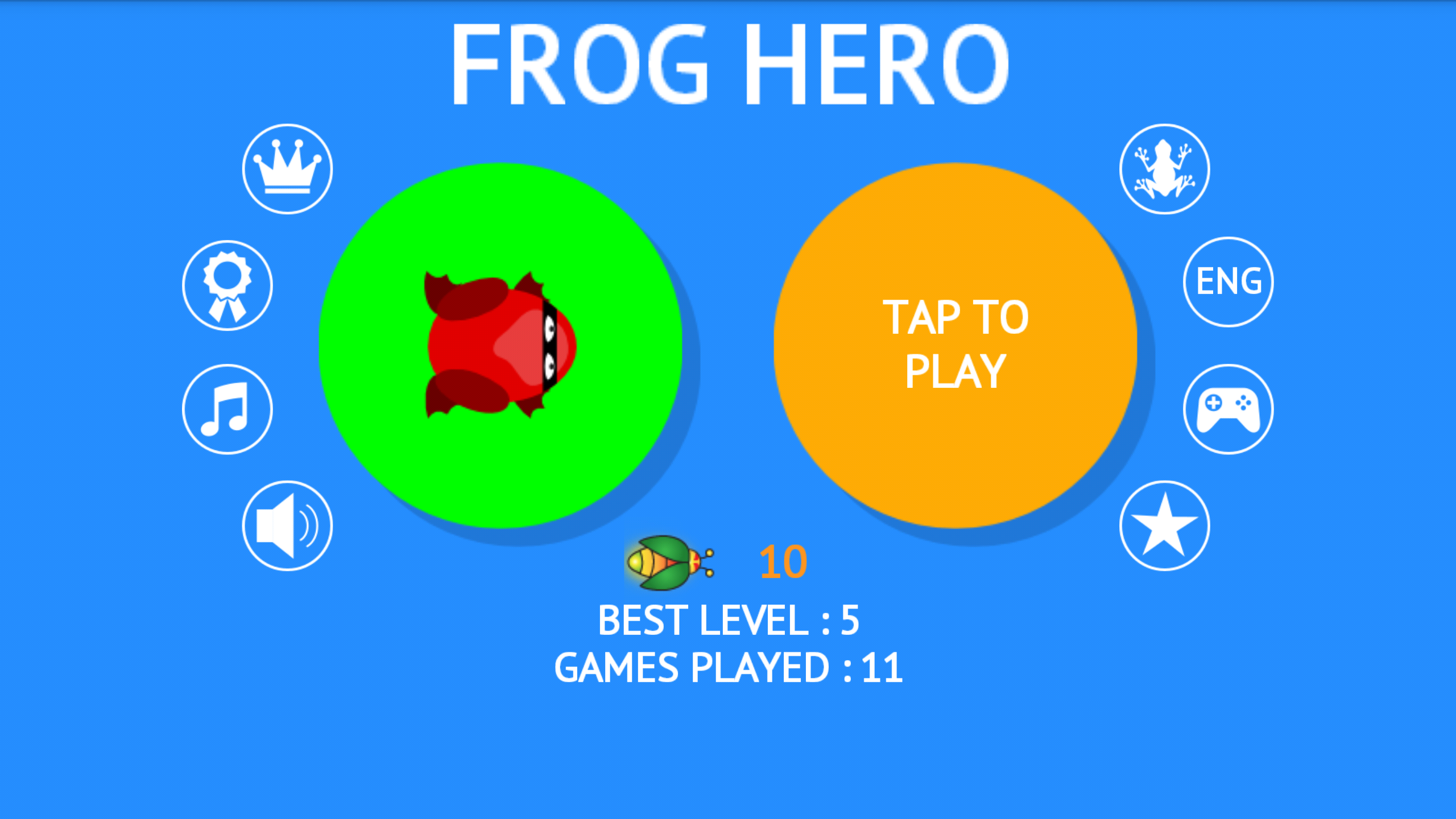 Frog Hero 1.3.8 Screenshot 2