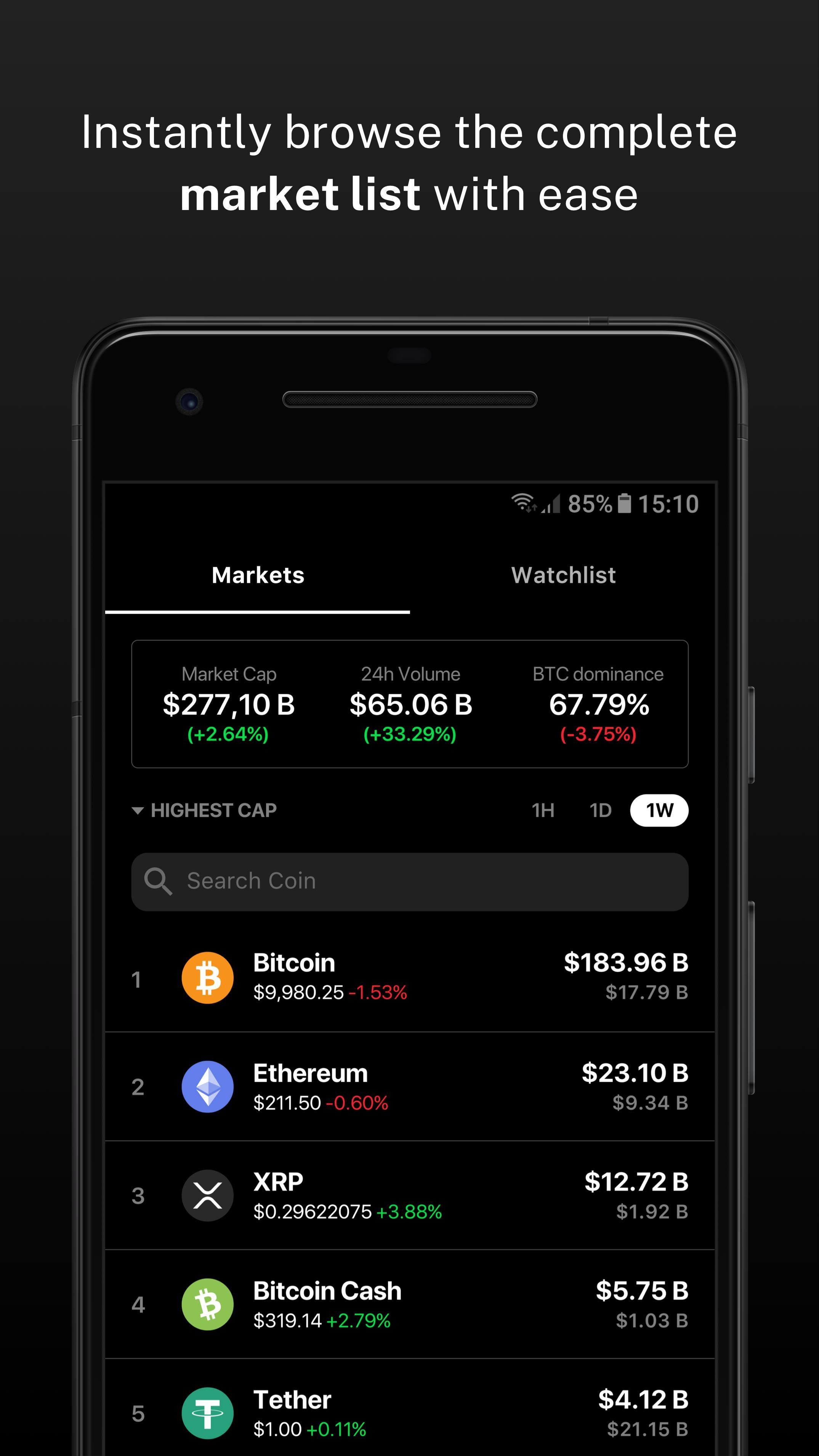 Delta Investment Portfolio Tracker 4.0.4 Screenshot 4