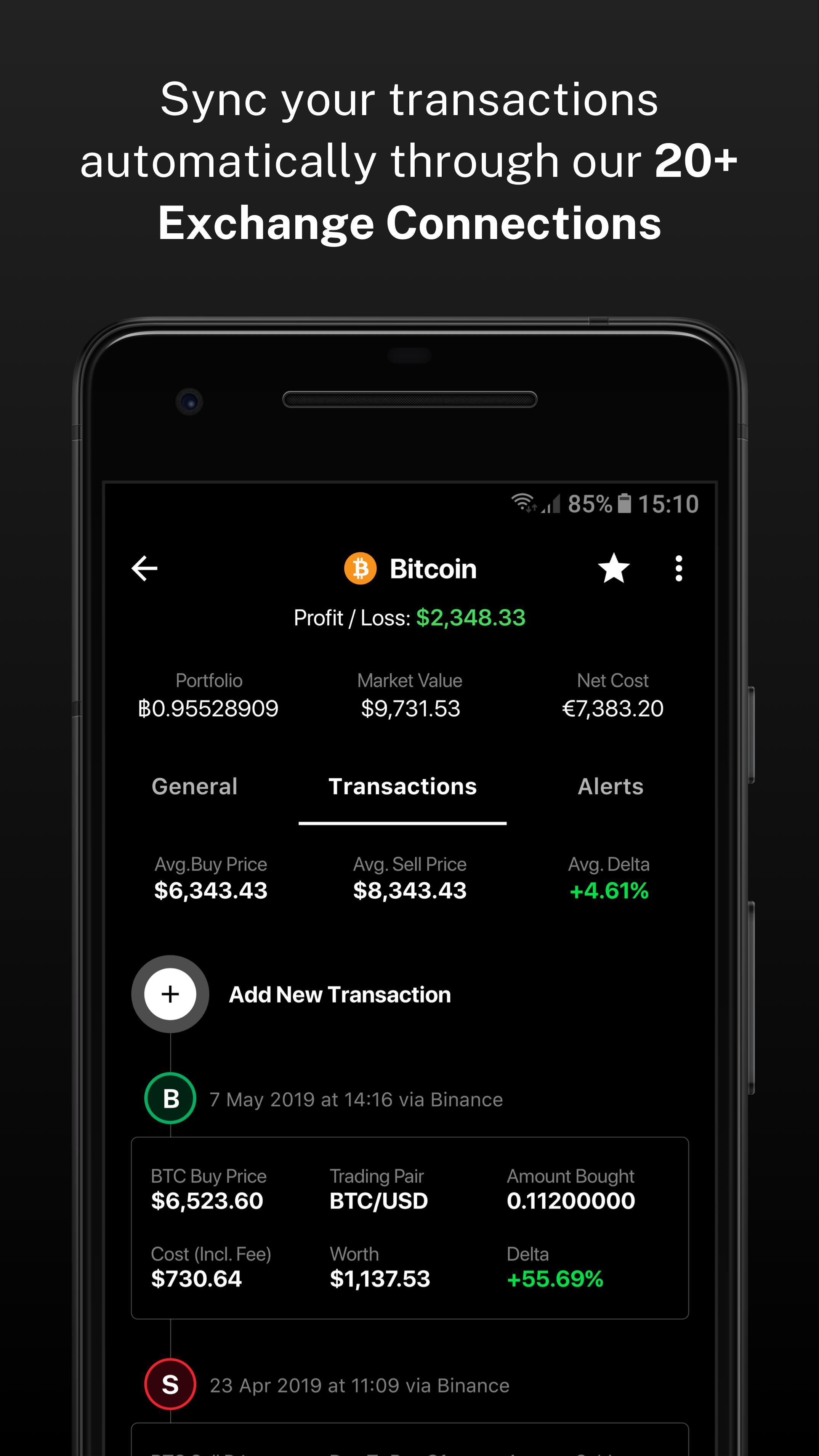 Delta Investment Portfolio Tracker 4.0.4 Screenshot 7