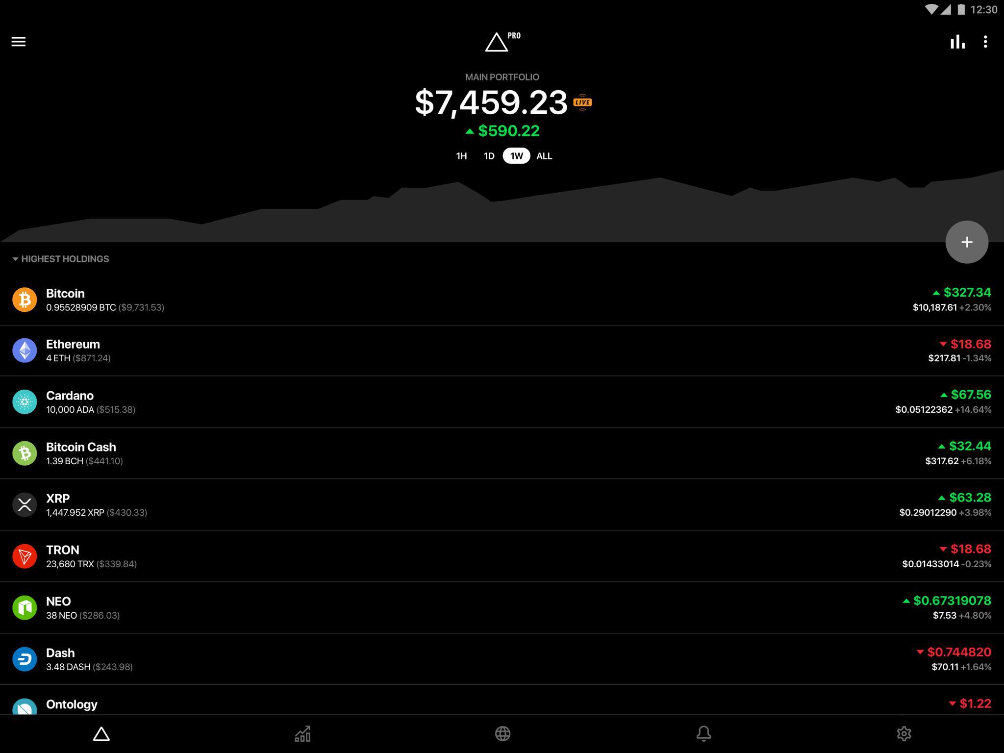 Delta Investment Portfolio Tracker 4.0.4 Screenshot 9